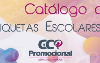 GC Catalogo de Etiquetas Escolares