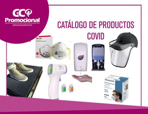 Catálogo de Productos Covid